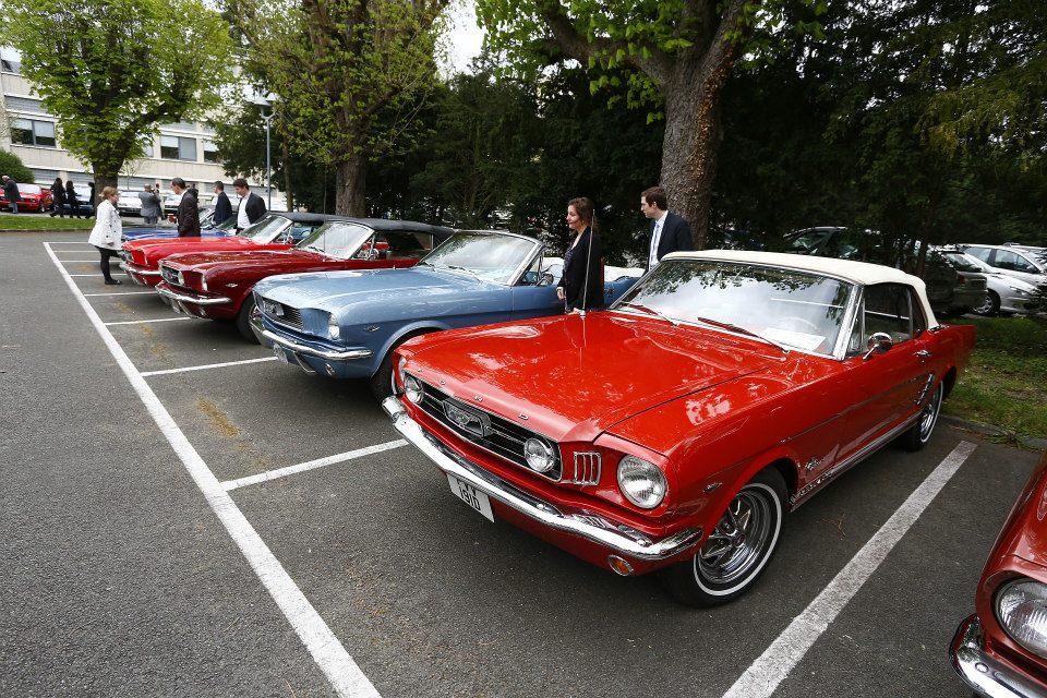 France : Pour la 1ère fois, la nouvelle Mustang