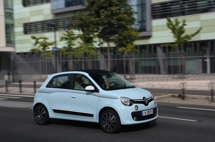Essai Renault Twingo.  Belle des villes.